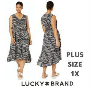 LUCKY BRAND FELICE Plus Size 1X full length NWT